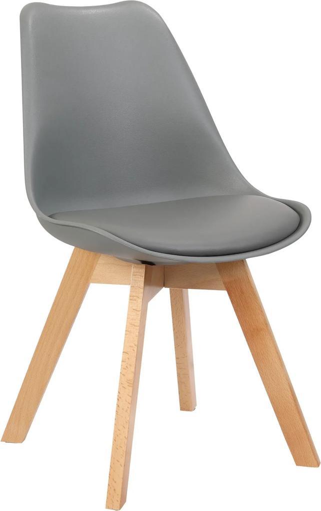 Cadeira Leda Cinza Rivatti