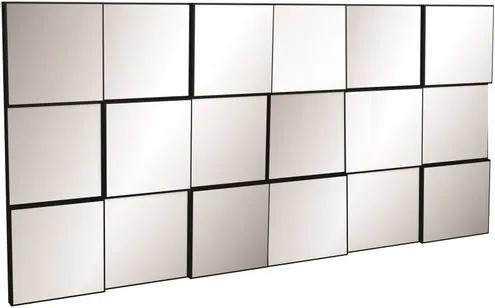 Quadro Espelho Block Grande 1,50 MT (LARG) cor Preto - 52882 Sun House