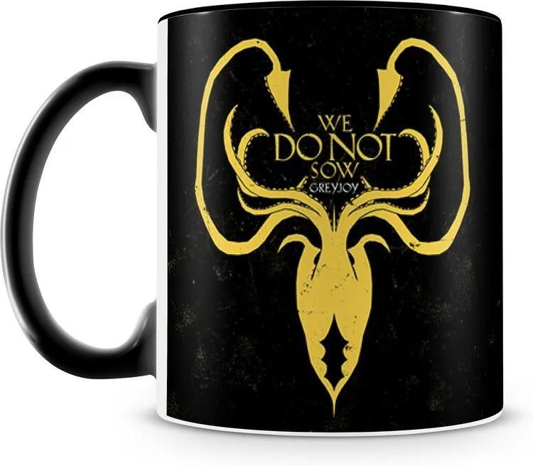 Caneca Personalizada Game of Thrones Casa Greyjoy