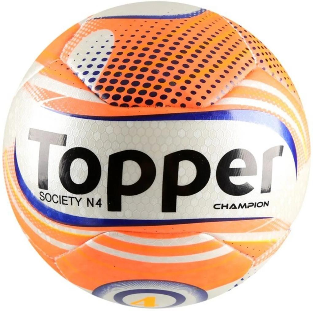 Bola Topper Futebol Society Champion N4