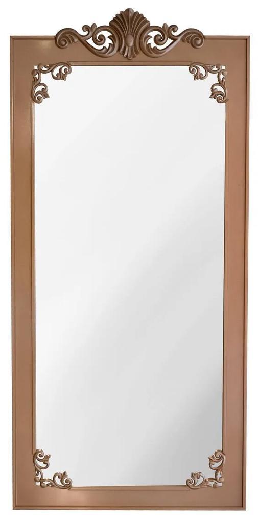 Espelho de Chão Bourbon - Dourado Soleil Clássico Kleiner Schein