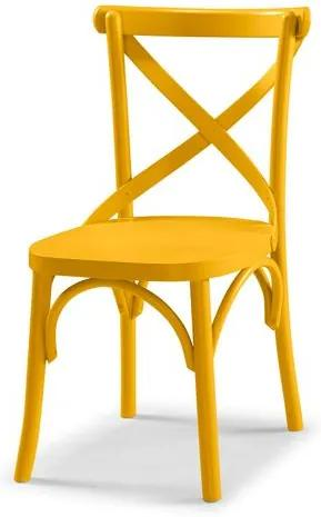 Cadeira X Cor Amarelo - 31323 Sun House