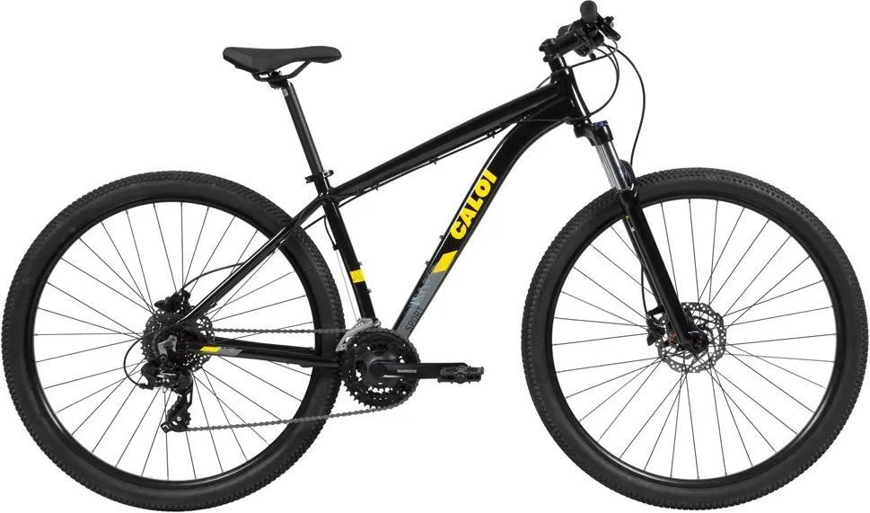 Bicicleta Explorer Sport Aro 29 Quadro Alumínio - Caloi - 17 - Preto