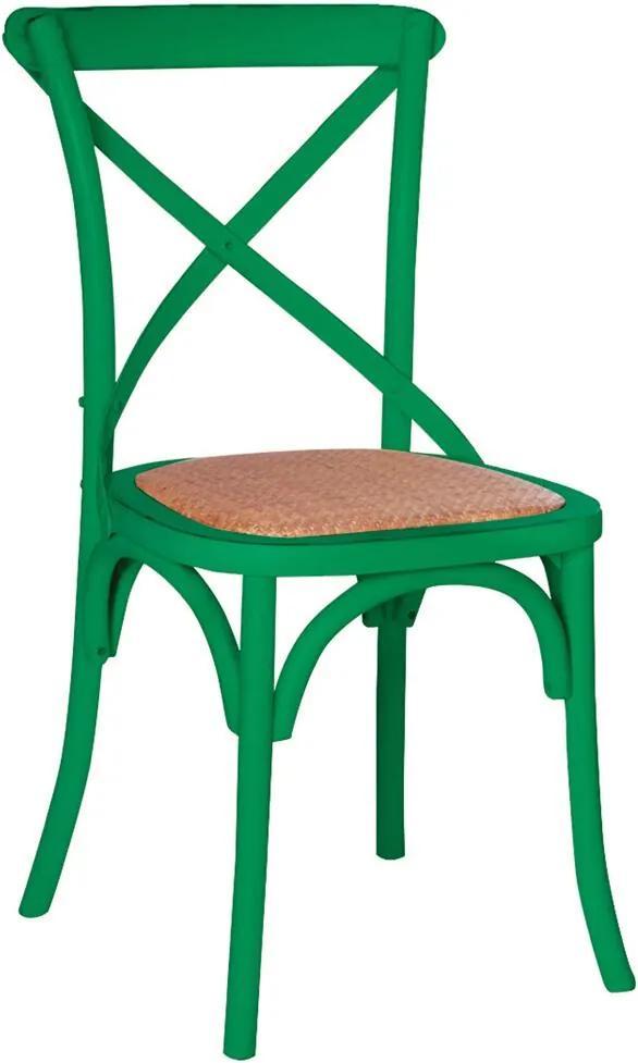 Cadeira Katrina Rústica Verde