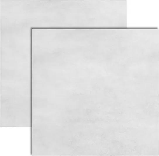 Piso Cimento Cinza Acetinado 57x57cm - LF59621 - LEF - Via Apia