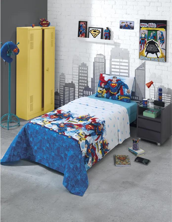 Jogo de Cama Dohler Infantil - Superman 06