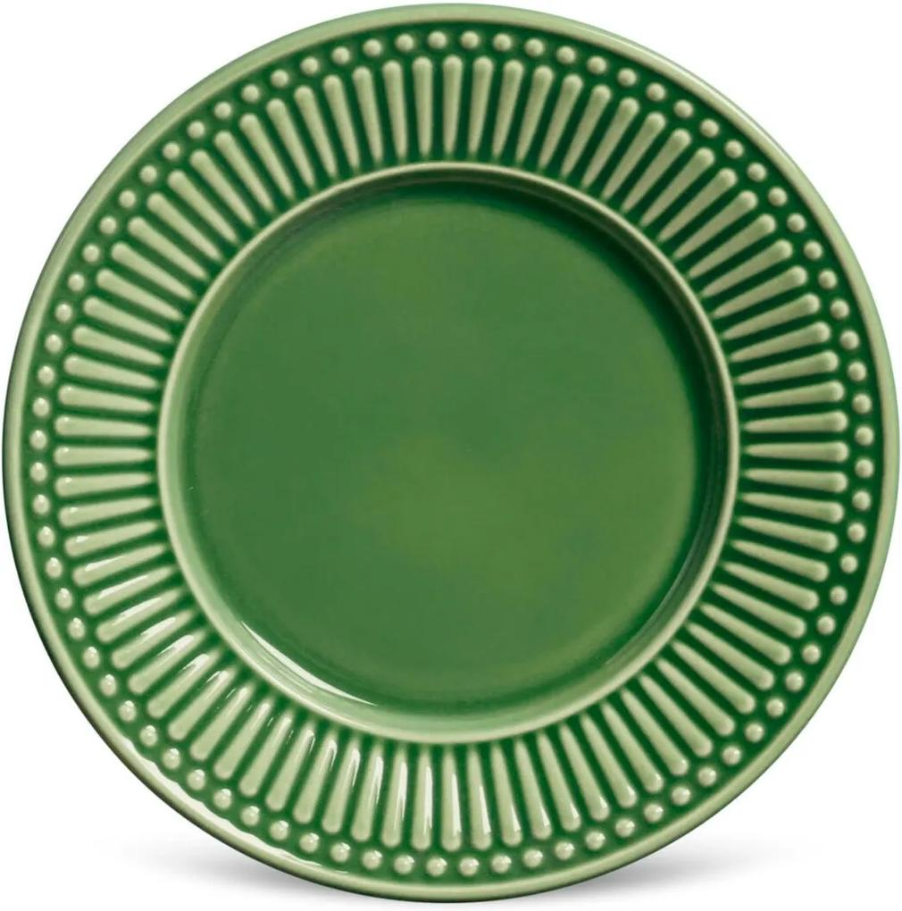 Conjunto 6pçs Pratos de Sobremesa Porto Brasil Roma Verde