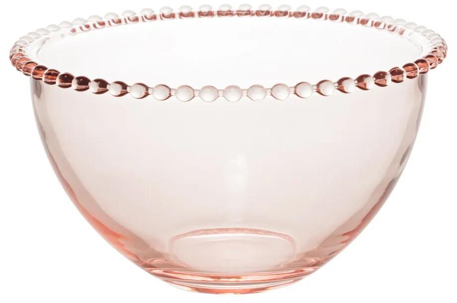 Jogo Bowls 4 Peças Cristal Pearl Rosa 14x8cm 28442 Wolff