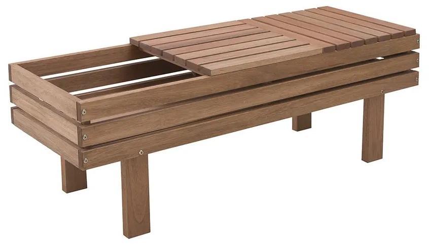 Banco Alecrim com Floreira - Wood Prime MR 34661