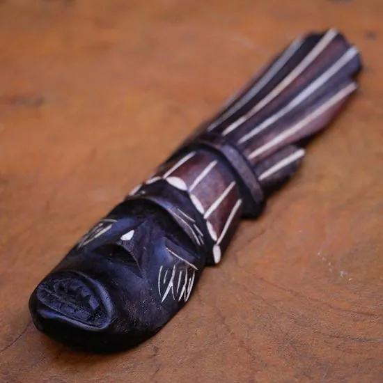Máscara Decorativa Indígena Tikuna - P