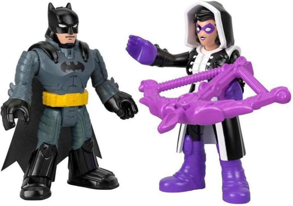 Imaginext DC Super Friends Batman e Huntress - Mattel