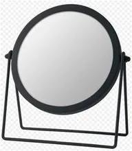 Espelho com Aumento 19,5cm Reflect Preta Domus