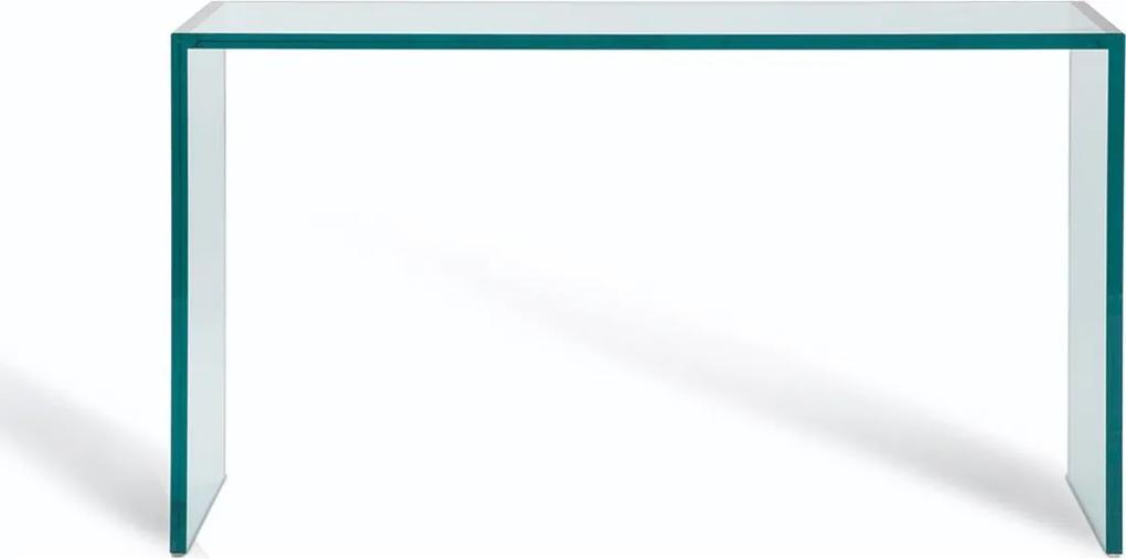 Aparador De Vidro Incolor Trave 100X35 Vidrotec Branco