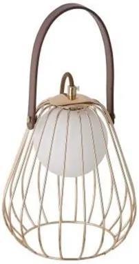 Luminária De Mesa Metal French Gold Lamp