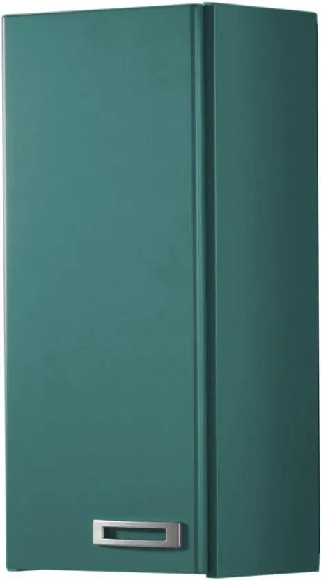 Armário de Banheiro Aéreo 1 Porta Kenzo 160 Azul Claro - Maxima