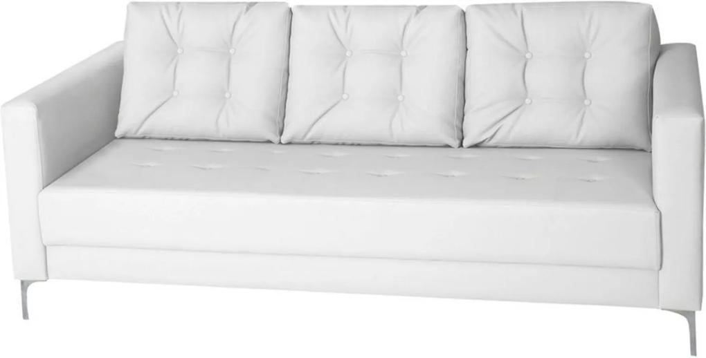 Sofá Gran Belo Decor Lord 142cm Corano Branco