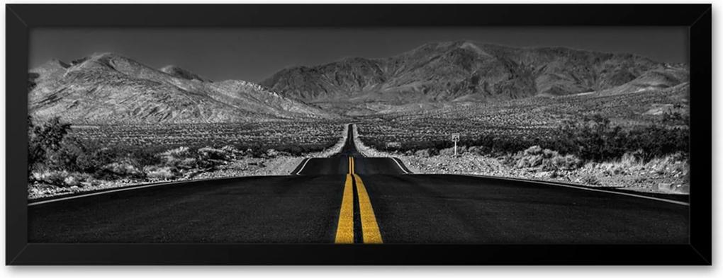 Quadro Adoraria Estrada Multicolorido