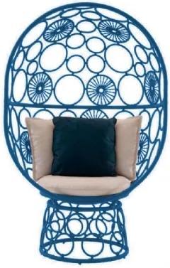 Cadeira de Corda Pina Azul