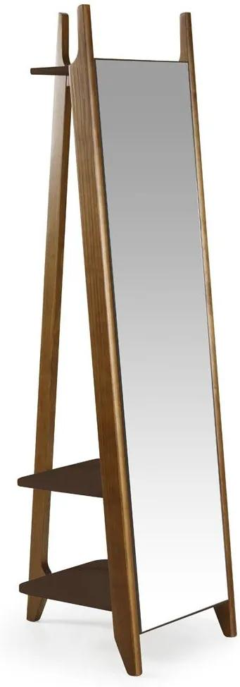 Espelho Stoka 169,5 cm 988 Nogal/Marrom Escuro - Maxima