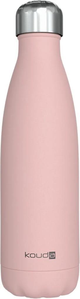 Garrafa Kouda 500ml 10373 Rosa Claro Classic Powder Coating