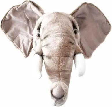 Cabeça de Elefante de Parede Wild & Soft