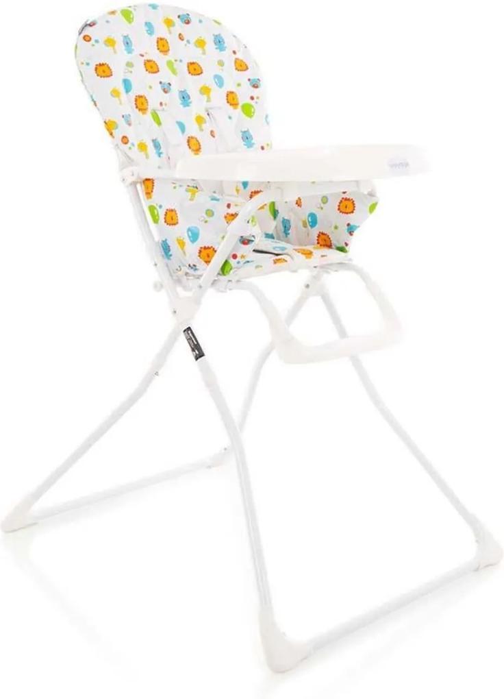 Cadeira de RefeiçÁo Kitut Voyage Zoo Branca IMP01478