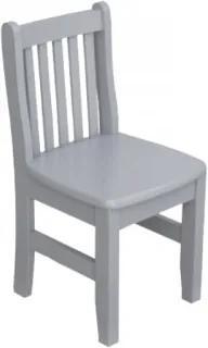 Par de Cadeiras Infantis Clever Cinza
