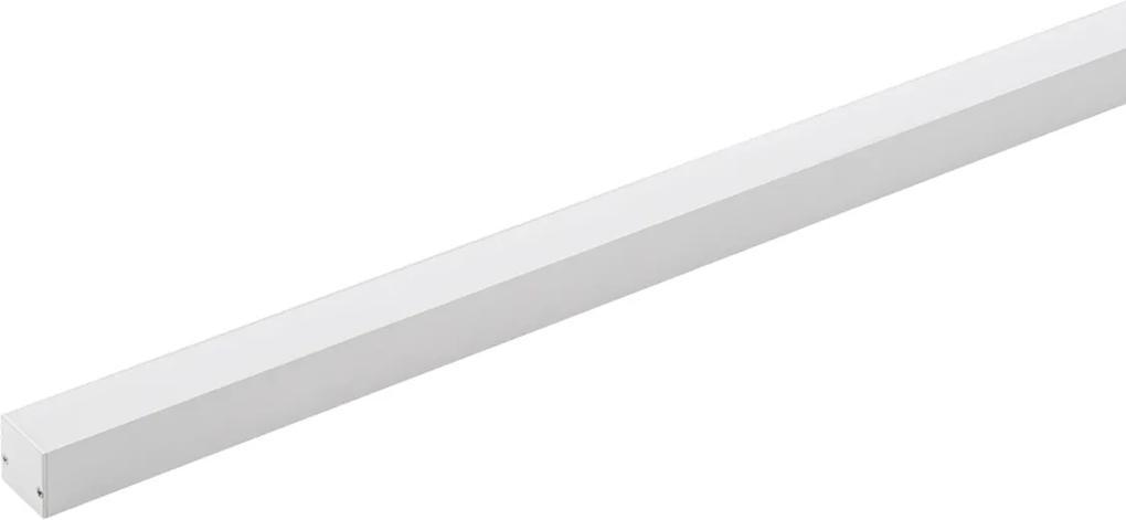 Perfil Sobrepor Aluminio Branco Led 11,5w 4000k 1mt Archi