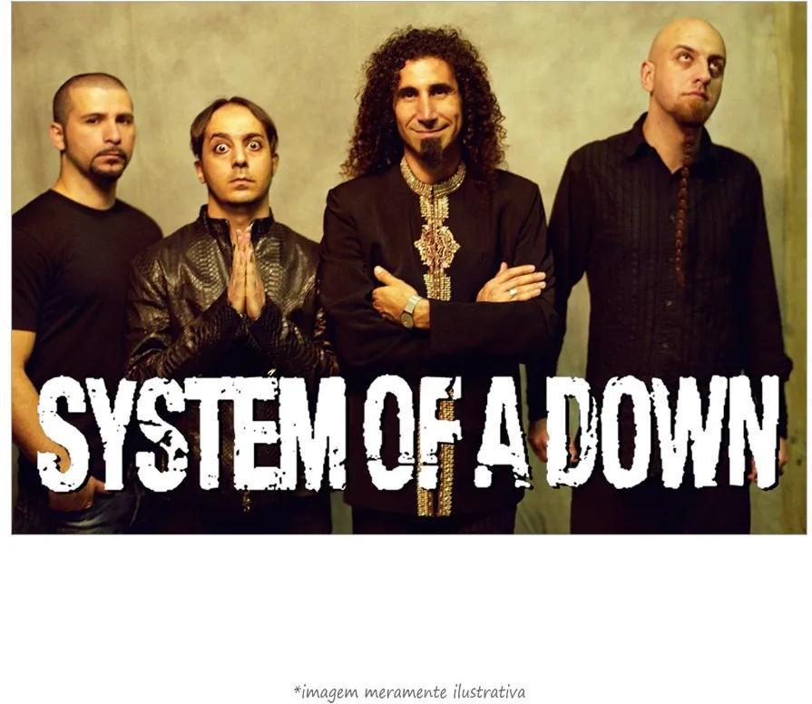 Poster System Of A Down (60x90cm, Apenas Impressão)