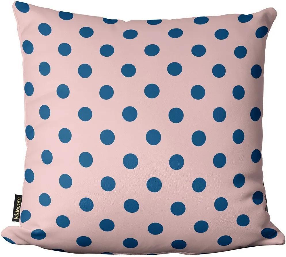 Capa para Almofada de Páscoa Bolinhas Azul Rosa 45x4545x45cm