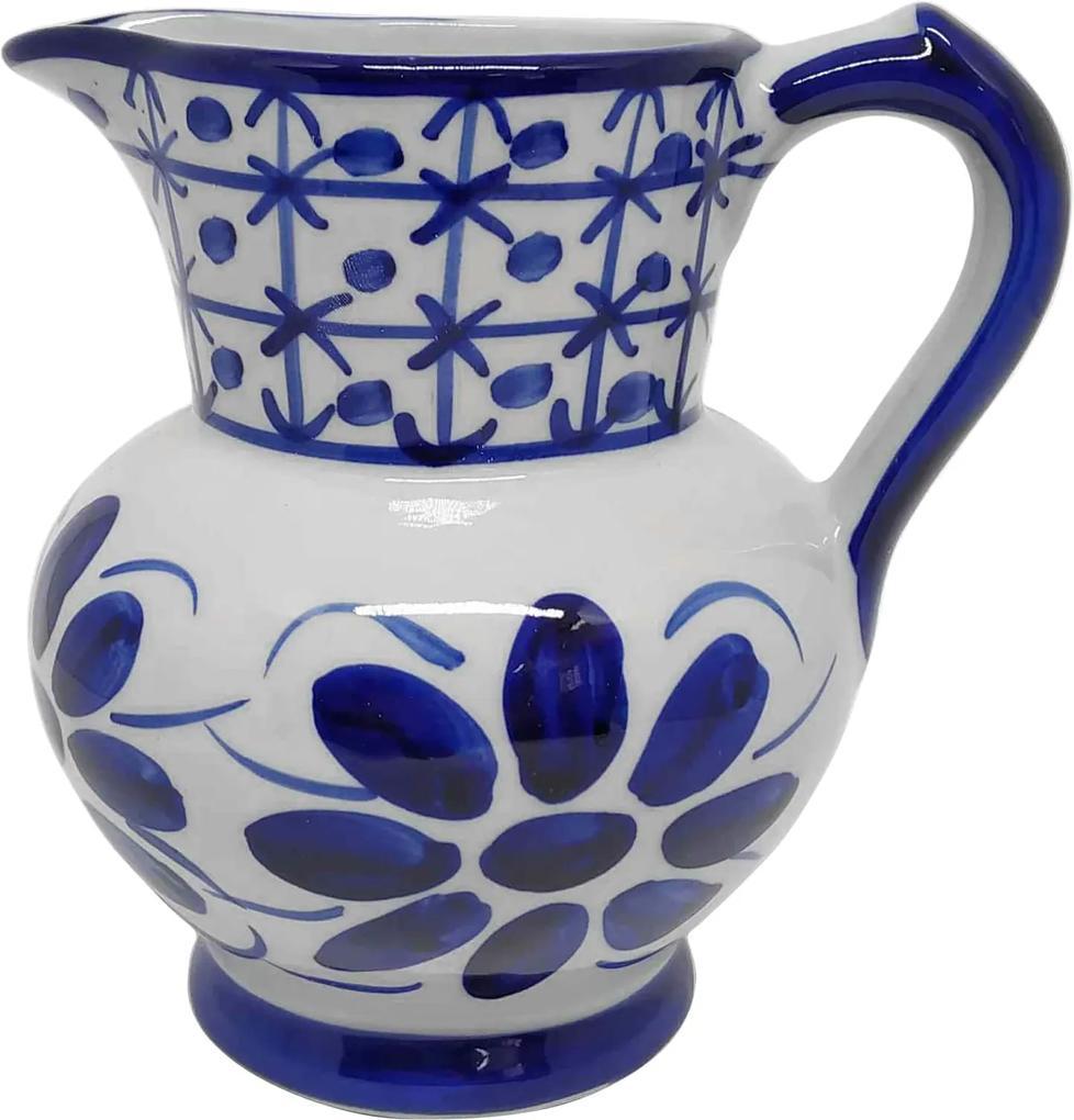 Jarra de Porcelana Azul Colonial 1000 ml