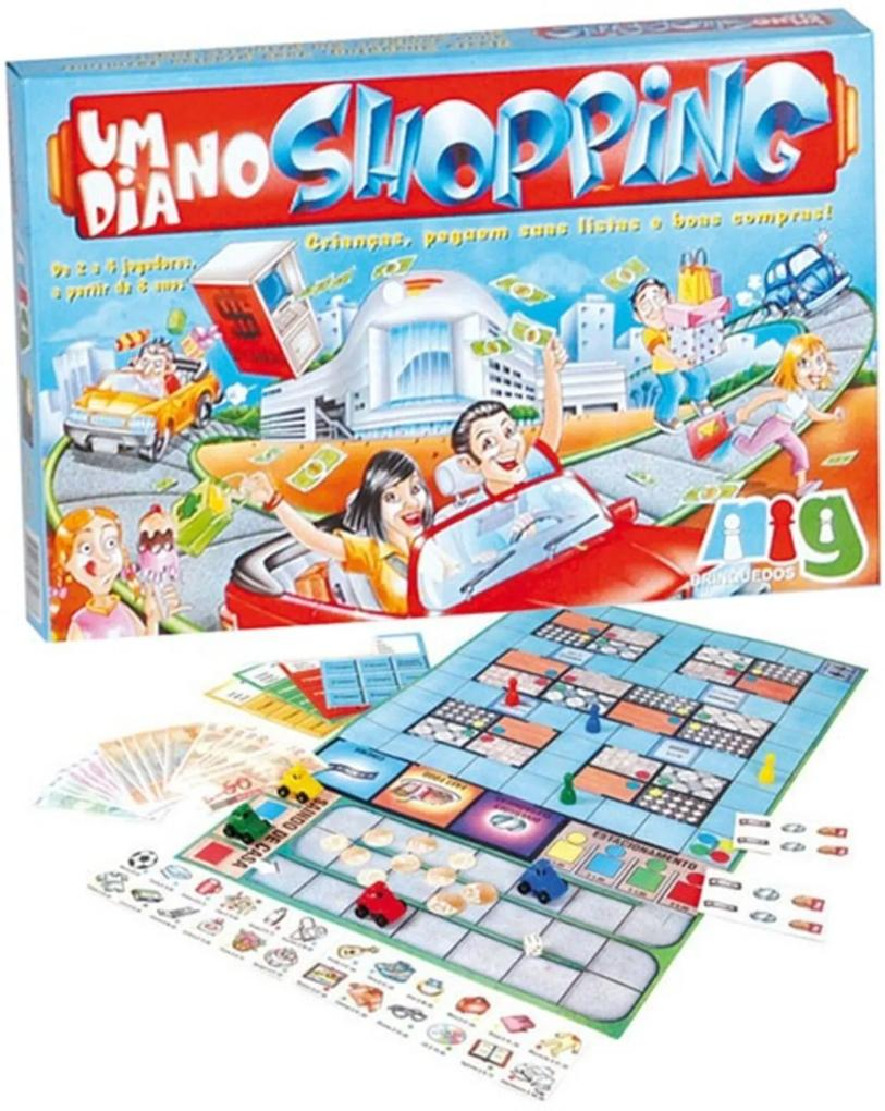 Jogo Nig Brinquedos Um dia no Shopping Multicolorido