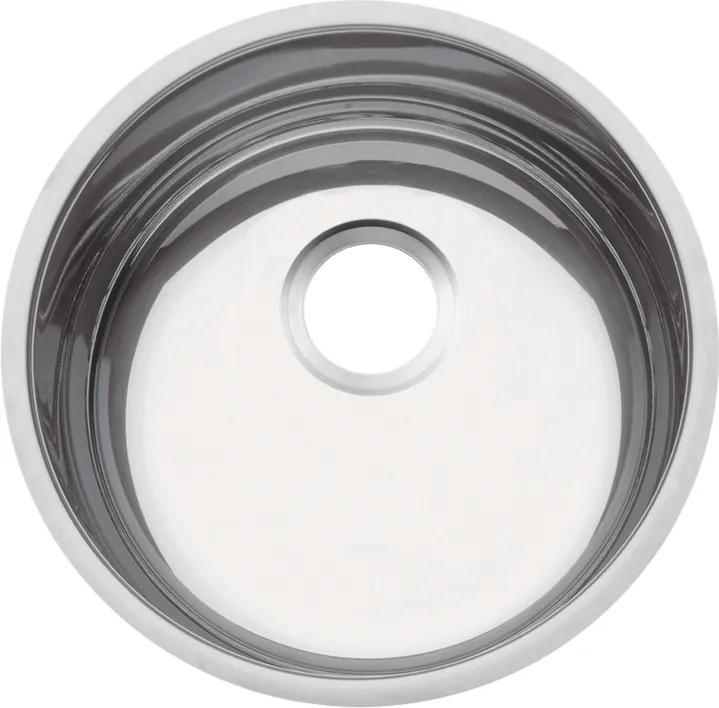 Cuba em aço inox polido 35 cm - Perfecta - Tramontina