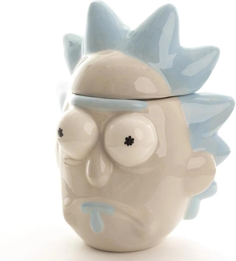 Caneca Cabeça Rick Incolor