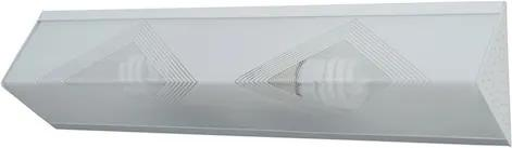 Plafon Sobrepor Acrílico Branco 50Cm X 13Cm