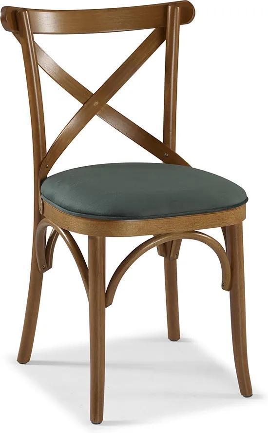 Cadeira X Manchester Com Estofado Linz Móveis