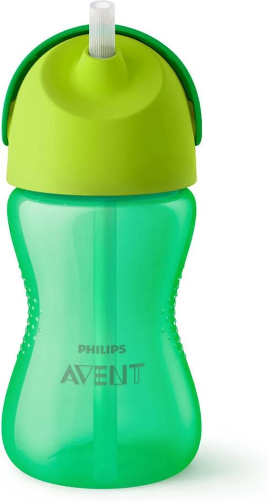 Copo com Canudo - Dinossauro Verde - 300 Ml - Philips Avent