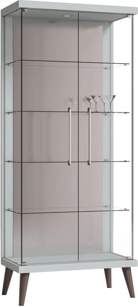 Cristaleira Tifanny Branco - Imcal Móveis