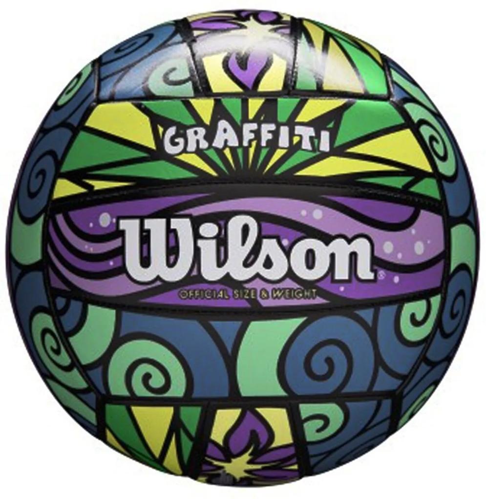 Bola Wilson Vôlei Graffiti Street Rosa