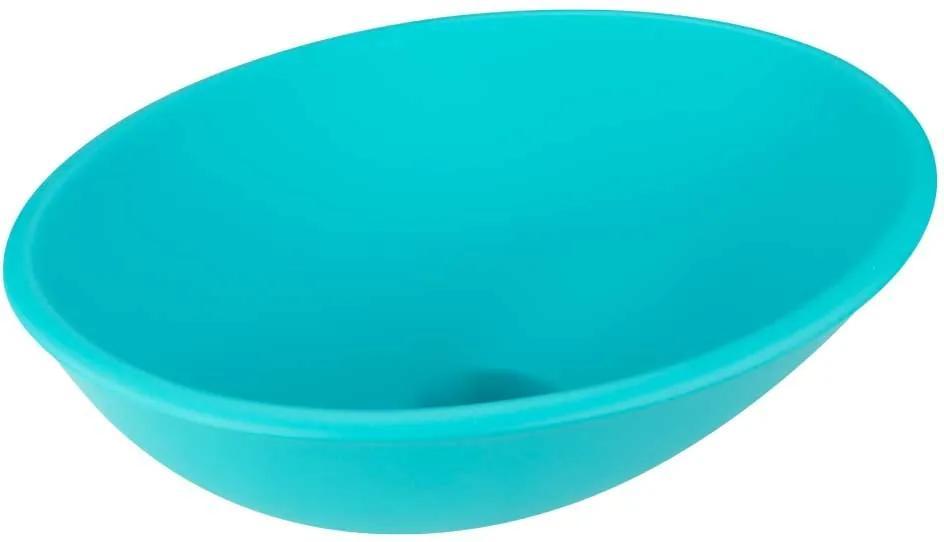 Cuba de Apoio Oval 37 cm (Azul Acqua Fosca)