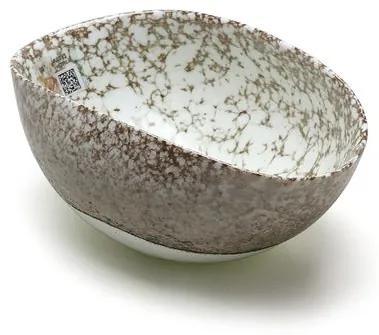 Bowl de Murano Marfim com Tela Avventurina Yalos