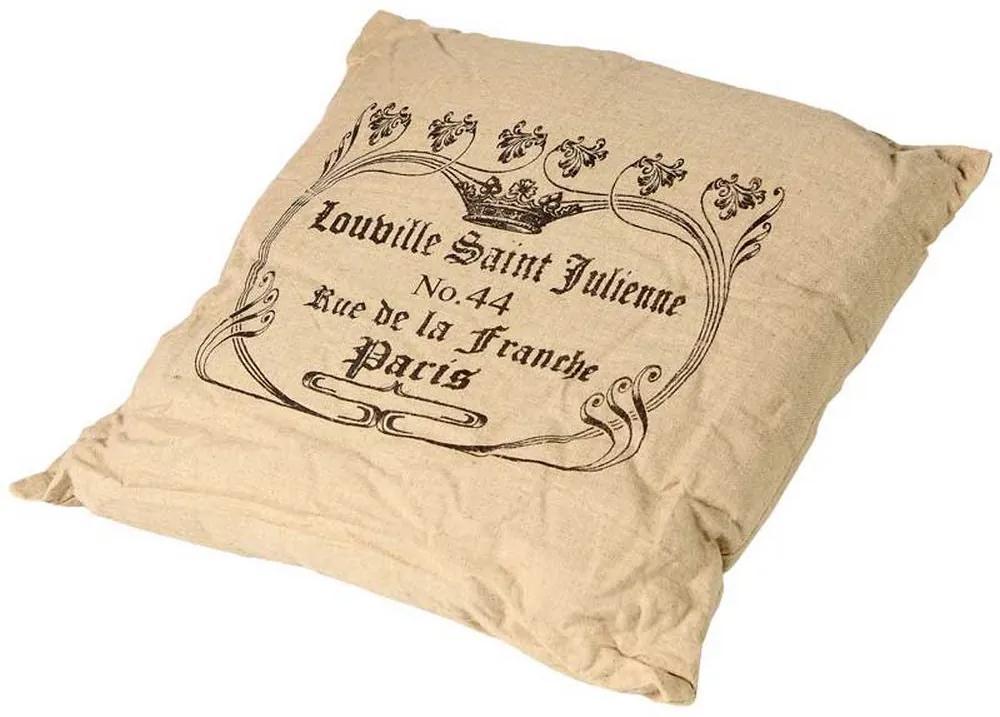 Almofada Personalizada Paris III de Linho com Enchimento