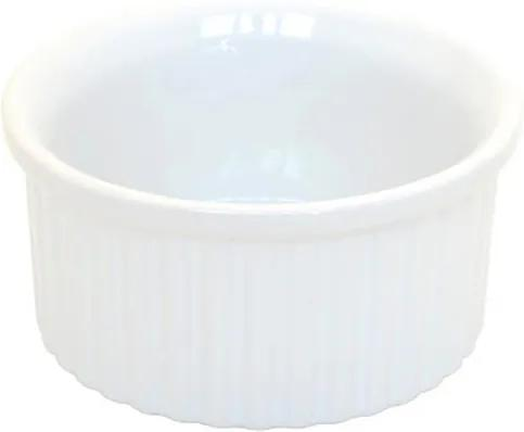 Tigela Ramequin Branca de 8 cm