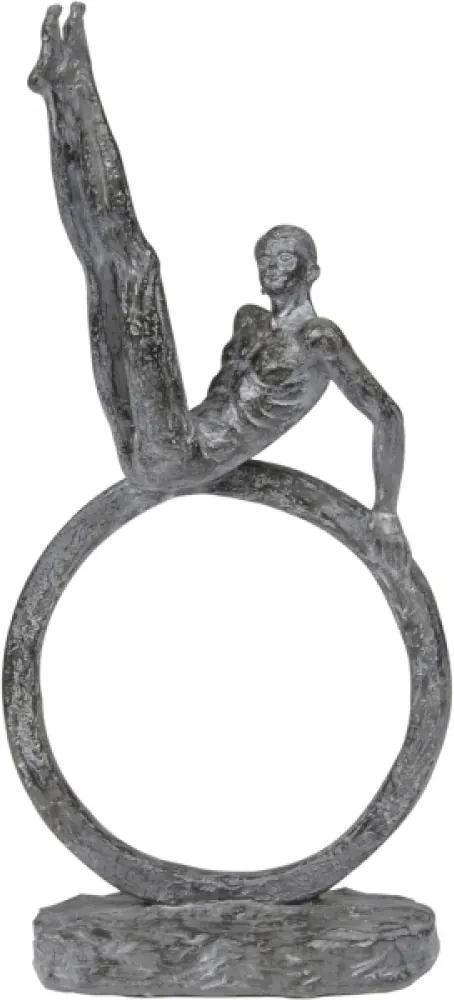 escultura HIPÓLITO resina 32cm Ilunato NA0536