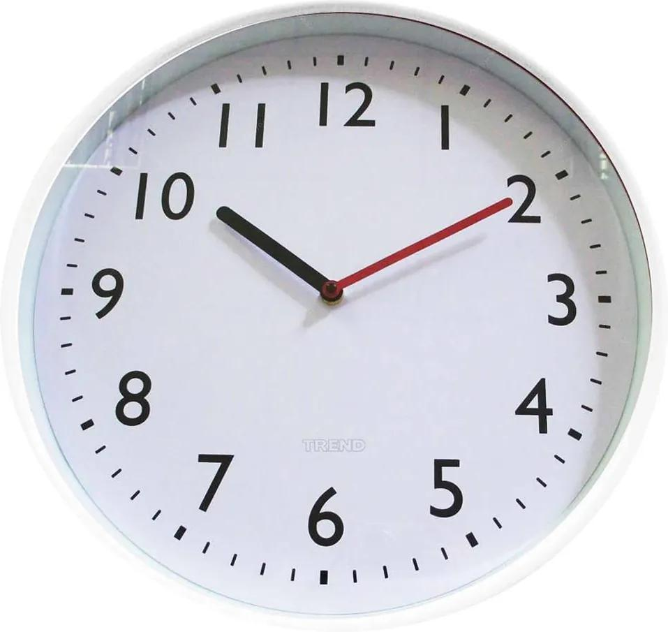 Relógio de Parede All Clean Numbers Branco - Urban - 37,8 cm