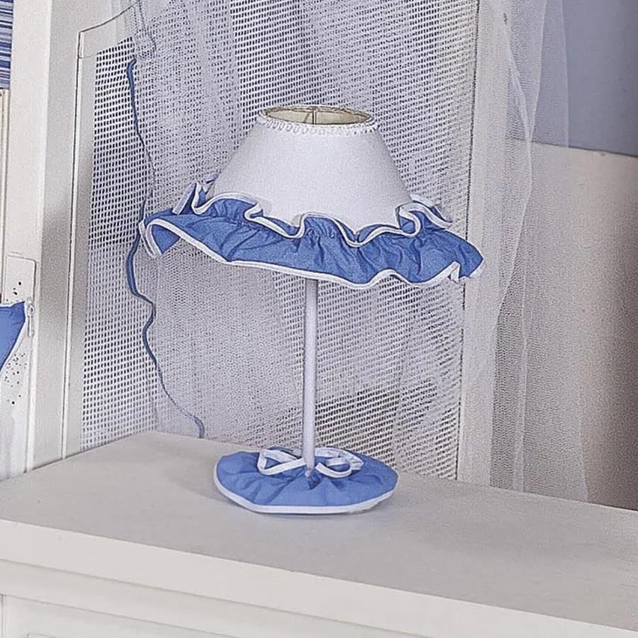 Abajur Family Azul