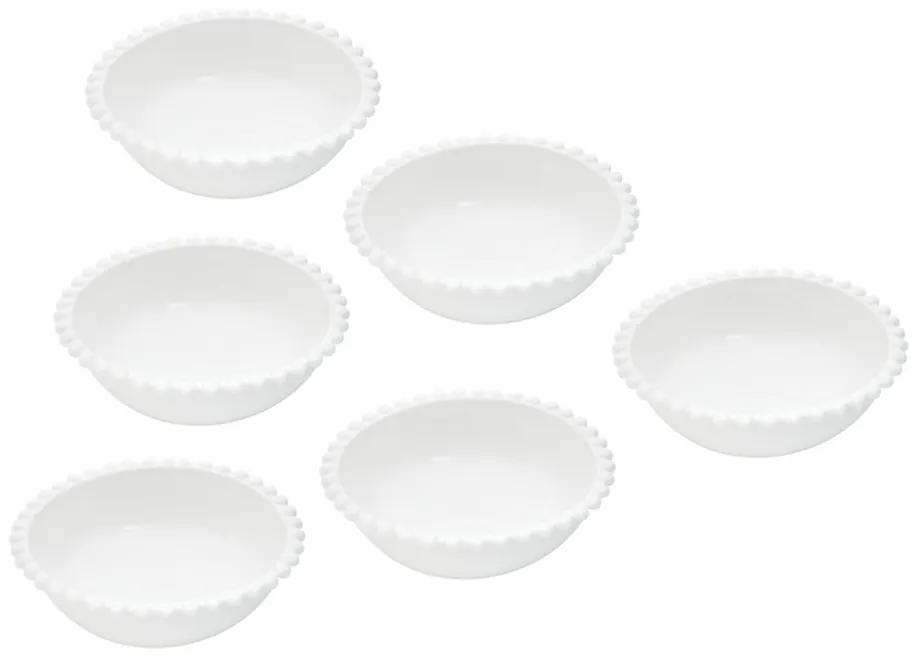 Jogo Bowls Porcelana 6 Peças 11x4cm 27568 Bon Gourmet