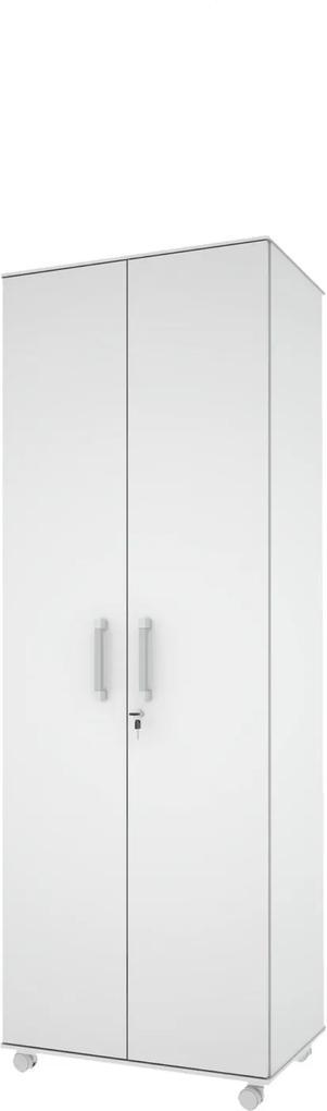 Armário Multiuso Roma Branco - MiraRack Móveis