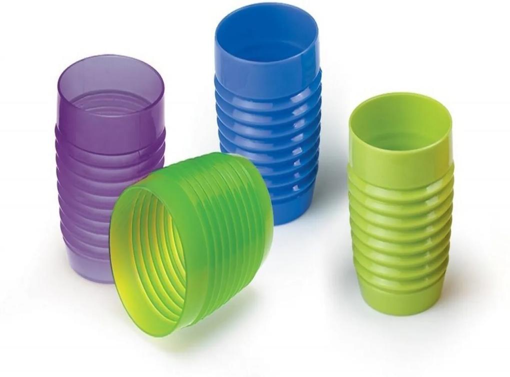 Copo Verão Suco/Água 350Ml Plástico