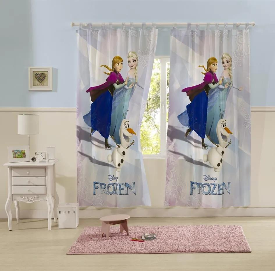 Cortina Infantil Frozen Lepper